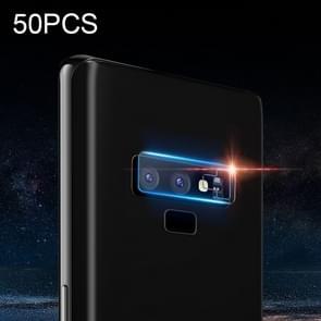 50 PCS Soft Fiber Back Camera Lens Film for Galaxy Note 9