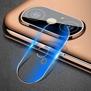 Zachte Fiber terug camera lens film gehard glas film voor iPhone XS Max