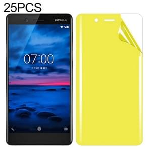 25 PCS For Nokia 7 Soft TPU Full Coverage Front Screen Protector