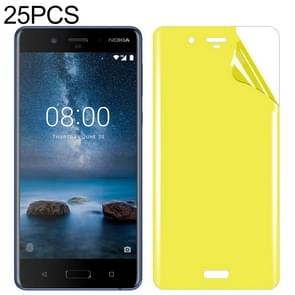 25 PCS For Nokia 8 Soft TPU Full Coverage Front Screen Protector