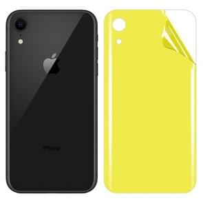 For iPhone XR Soft TPU Full Coverage Back Screen Protector