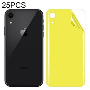 25 PCS For iPhone XR Soft TPU Full Coverage Back Screen Protector