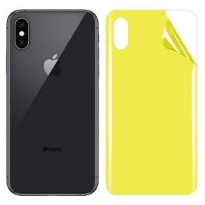For iPhone XS Max Soft TPU Full Coverage Back Screen Protector