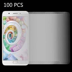 100 PCS OPPO F1s 0.26mm 9H Surface Hardness 2.5D Explosion-proof Tempered Glass Screen Film