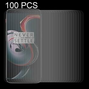 100 PCS Oneplus 5T 0.26mm 9H Surface Hardness 2.5D Curved Edge Tempered Glass Screen Protector