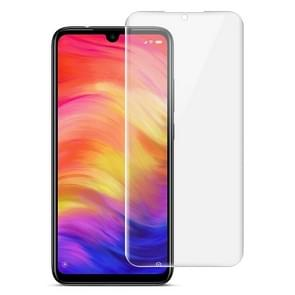 2 PCS IMAK 0.15mm Curved Full Screen Protector Hydrogel Film Front Protector for Xiaomi Redmi Note 7
