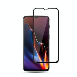 mocolo 0.33mm 9H 2.5D Silk Print Tempered Glass Film for OnePlus 6T (Black)