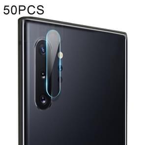 50 PCS Soft Fiber Back Camera Lens Film for Galaxy Note 10+