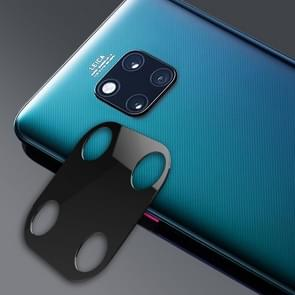 10D Full Coverage Mobile Phone Metal Rear Camera Lens Protection Ring Cover for Huawei Mate 20 Pro(Black)