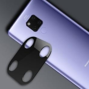 10D Full Coverage Mobile Phone Metal Rear Camera Lens Protection Ring Cover for Huawei Mate 20 X(Black)