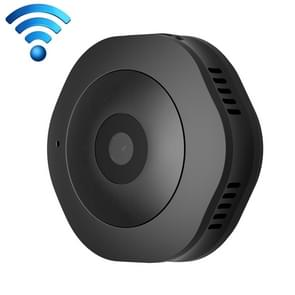 H6 Mini HD 1280 x 720P 120 Degree Wide Angle Wearable Smart Wireless WiFi Surveillance Camera, Support Infrared Night Vision & Motion Detection Recording & 15-25m Local Monitoring & Loop Recording & 64GB Micro SD (TF) Card(Black)