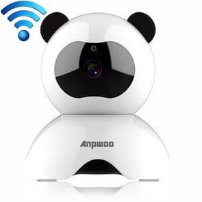 Anpwoo Panda 720P HD WiFi IP Camera, Support Motion Detection & Infrared Night Vision & TF Card(Max 128GB)
