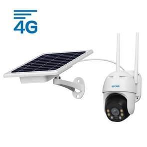 ESCAM QF330 HD 1080P 4G Solar Panel PT IP Camera met batterij  ondersteuning Nachtzicht & TF-kaart & PIR Bewegingsdetectie & Two Way Audio