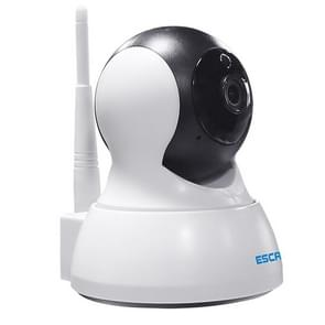 ESCAM QF007 1/4 inch  PTZ WiFi IP Camera, Support Motion Detection / Night Vision, IR Distance: 10m (White)