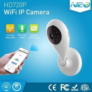 NEO NIP-55AI Indoor WiFi IP Camera, with IR Night Vision & Multi-angle Monitor & Mobile Phone Remote Control