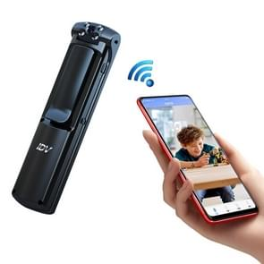IDV-L01 1080P HD WiFi Back Clip Digital Pen Voice Recorder Mimi Camera  Support IR Night Vision & TF Card & 180 Degrees Lens Rotation(Zwart)