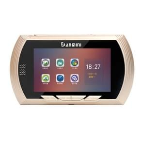 YB-45AHD-M 4.5 Inch Motion Detection Camera Video Smart Digital Door Viewer(Gold)