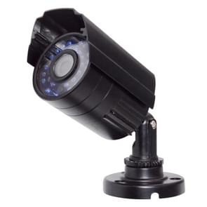 WQ-1002 2000TVL HD Anti-water Gun Type Analog 30 Light Infrared Camera(Black)