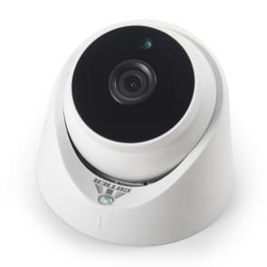 533H 2 / IP-3 6 mm 2MP Lens Full HD 1080P binnen veiligheid Dome bewakingscamera met 20 Meter nacht visie functie (wit)