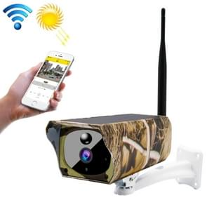 VESAFE VS-Y4 Maple Leaf Pattern 1080P HD Battery Solar WiFi IP Camera, Support PIR Motion Detection & Infrared Night Vision & TF Card(64GB Max)