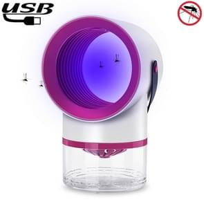 189 T Style USB Photocatalyst Mosquito Killer Light Fly Killer Insectenwerend middel (Wit)