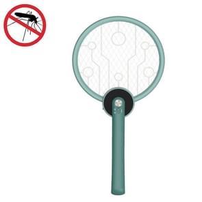 2W draagbare opvouwbare elektrische mug swatter (Groen)
