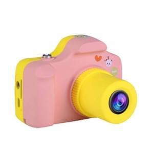 Klein SLR Camera 1 5-inch LCD scherm kinderen Digitale Camera (roze)