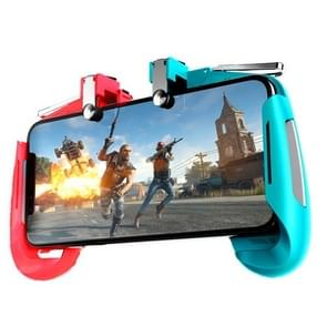AK16 Multi-function Eating Chicken Gamepad Handle Mobile Game Scoring Tool (Blue)