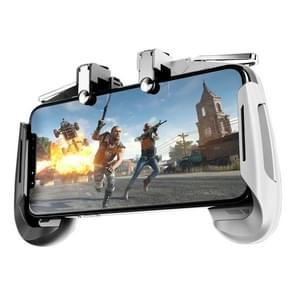 AK16 Multi-function Eating Chicken Gamepad Handle Mobile Game Scoring Tool (White)