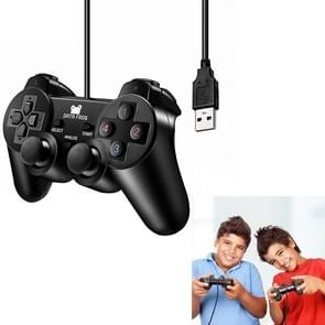 Wired Game Controller Computer Game Handle for PS 2 / PC