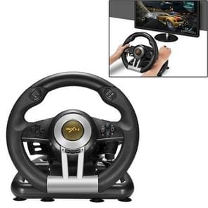 PXN-V3 Racing Game Steering Wheel for PC / PS3 / 4 / xbox one / switch (Black)