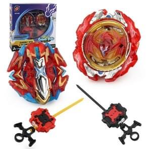 XD168-7J 2 In1 explosieve gyroscoop schijf atletische slag instellen gyroscoop speelgoed
