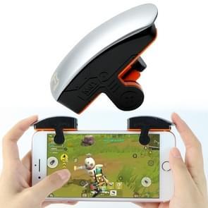M01 Rechtshandige versie met één knop Continu schieten fysieke verbinding mobiele telefoon game knop voor mobiele telefoons binnen de dikte van 6 76-11 25 mm