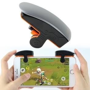 M01 Linkshandige versie met één knop Continu schieten fysieke verbinding mobiele telefoon game knop voor mobiele telefoons binnen de dikte van 6 76-11 25 mm