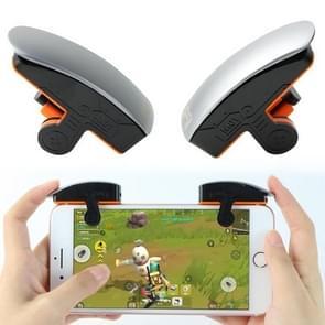 M01 Een paar een-knop continu-opname fysieke verbinding mobiele telefoon game knop voor mobiele telefoons binnen de dikte van 6 76-11 25 mm