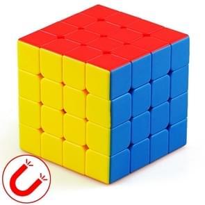 Moyu Mr. M-serie magnetische kubus twisty puzzel speelgoed vier lagen kubus puzzel speelgoed (kleur)