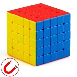 Moyu Mr. M-serie magnetische kubus twisty puzzel speelgoed vijf lagen kubus puzzel speelgoed (kleur)