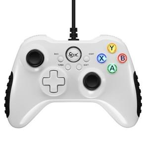 BETOP Electric Competition Battle PC Game Wired Handle Controller(White)