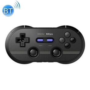 8Bitdo N30Pro2 Bluetooth Wireless Gamepad Game Controller Support NS For Computer Mobile Phones Vibration Body Induction(Black)