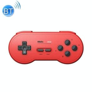 8BitDo SN30 Wireless Bluetooth Controller, Support Nintendo Switch Android MacOS Gamepad(Red)