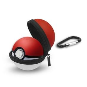 Carrying Portable Protective Bag for Nintendo Switch Poke Ball Plus Controller  with Keychain Size:13.5cm à 7.2cm à 3.3cm