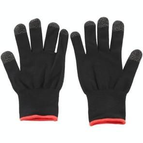 Een paar nylon + geleidende vezel non-slip zweet-proof Touch Screen ademende E-sport handschoenen