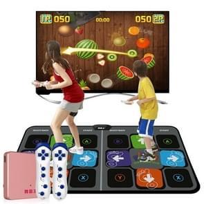 Voetstap patroon draadloze dubbele HD dansen deken TV computer dual-use somatosensorische dansen machine  dikte: 11mm