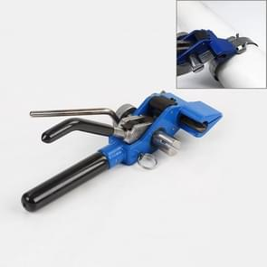 Stainless Steel Zipper Cable Ties Pliers Tool Tension Trigger Action Cable Gun with Cutter