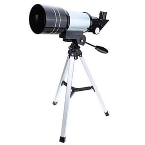 F36050 Draagbare professionele High-Definition High Times Espace telescoop Spotting Scope met aluminiumlegering Tripod(Silver)