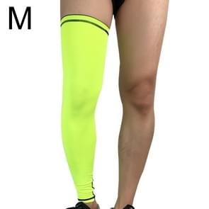 Outdoor Basketball Badminton Sports Knee Pad Riding Running Gear Long Breathable Protection Legs Pantyhose, Size: M