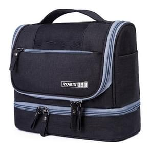 Romix RH67 Multi-function Women Travel Portable Large Capacity Cosmetic Bag (Black)