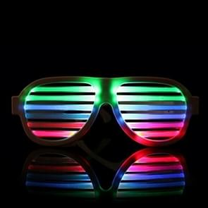 LED-CM03 LED Musical Shades Sound & Music Active LED Party Glasses met USB oplader