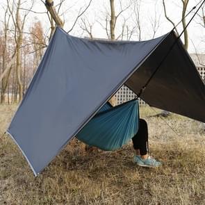 Buitenleven Anti-UV Waterproof Outdoor Camping Tent zon Shelter luifel strand Pergola met opbergtas  formaat: 2.8 x 3.6m