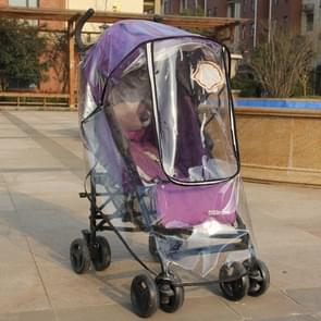 Adjustable Transparent Cover For Golf Carts, Baby Strollers And Wheelchairs To Provide Protection From Rain, Wind, and Mist, even mosquito(Transparent common rain cover)
